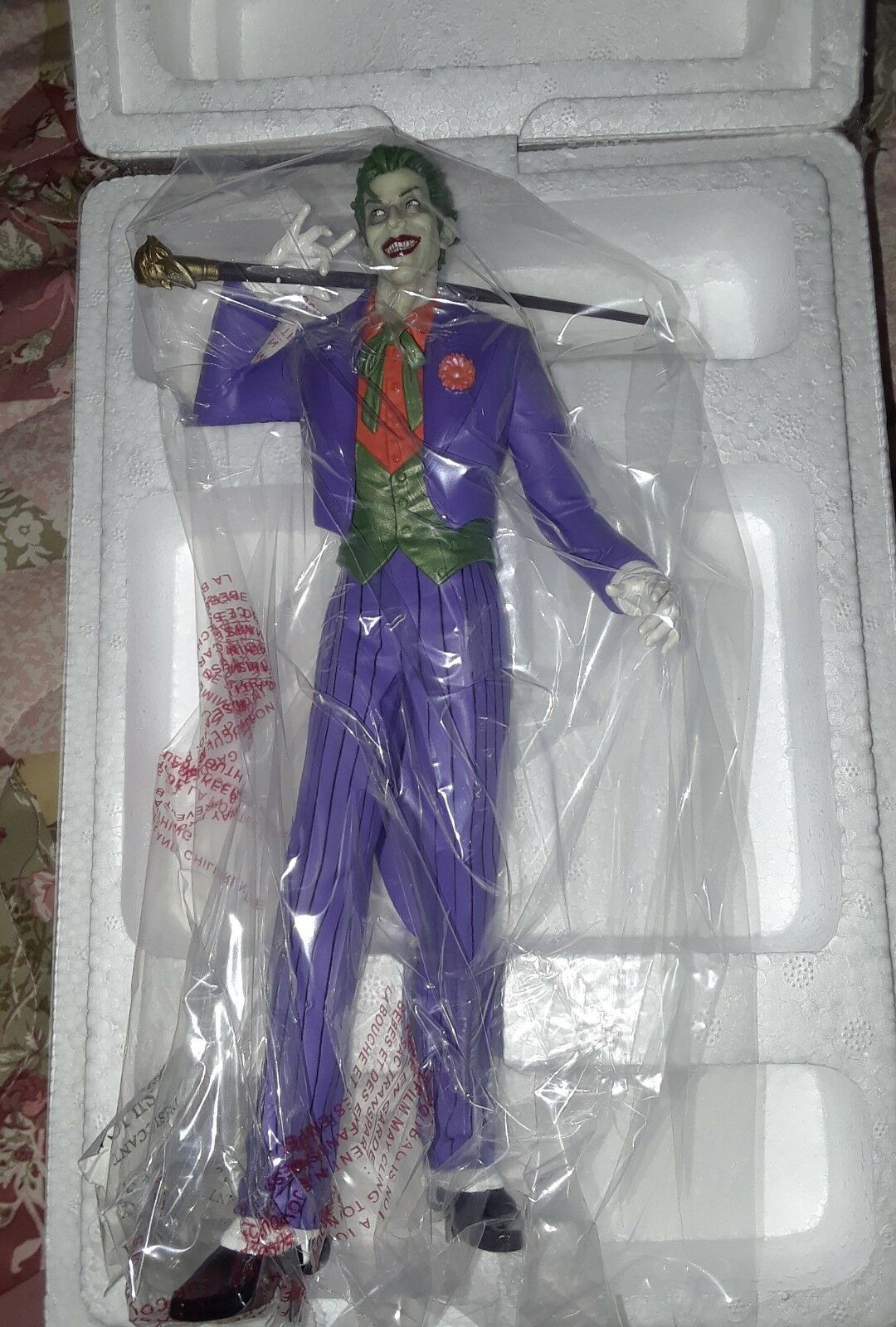 Dc - ikonen  der joker - statue (bis 2015) dc collectibles neue limited edition