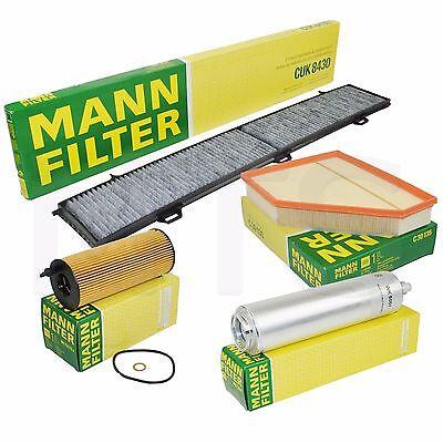 mann inspektionspaket filterset bmw 3er 320d 320xd e90 e91 e92 177ps ebay. Black Bedroom Furniture Sets. Home Design Ideas
