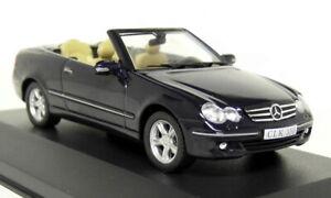 ALTAYA-Mercedes-Benz-Clk-Convertible-Escala-1-43-2005-A209-Coche-Modelo-Diecast