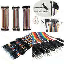 120pcs 20cm Breadboard Jumper Wires Ribbon Dupont Cable F M F F M M For Arduino