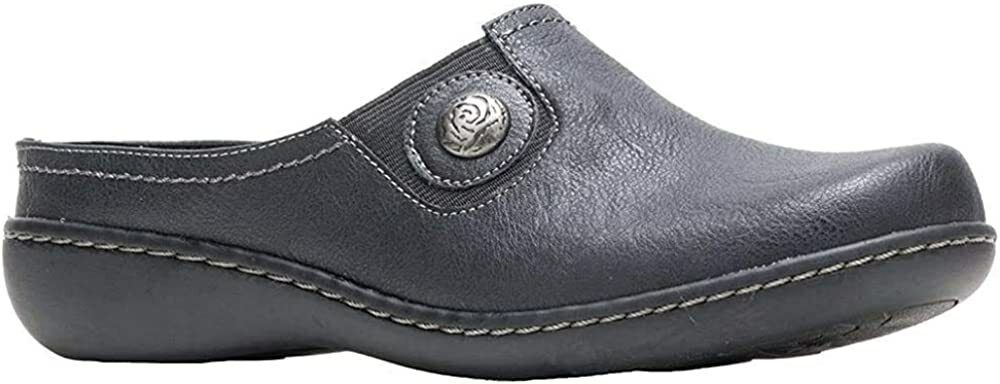 Soft Style by Hush Puppies Womens Jamila Leather Clog Shoe