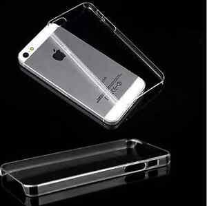 iPhone-5-5s-Huelle-Hardcase-Durchsichtig-Schutzhuelle-Kunststoff-Schutzhuellen