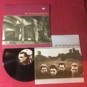 U2 -The Unforgettable Fire  CRC Club:1984 Island 7 A1-90231 Carrolton Press VG+