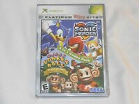 Sonic Heroes / Super Monkey Ball Deluxe Xbox Combo Pack Game Sealed Rare Us