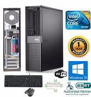 Dell OptiPlex COMPUTER DESKTOP 250GB Intel 3.00Ghz 4GB RAM WINDOW 10 PRO 64BIT