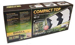 Exo Terra 45cm Canopy Terrarium Vivarium Dual Light