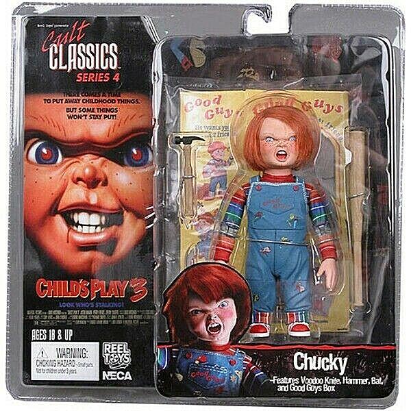 Chucky die Mörderpuppe Cult Classics Serie 4 Figur PVC 10cm Neca