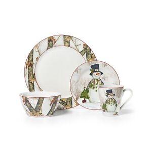Stock photo  sc 1 st  eBay & Mossy Oak Break up Infinity 16-piece Dinnerware Set Holiday ...