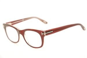 582be3aa283db New Authentic Tom Ford TF 5231 071 Clear Violet-Red 50mm Italy ...