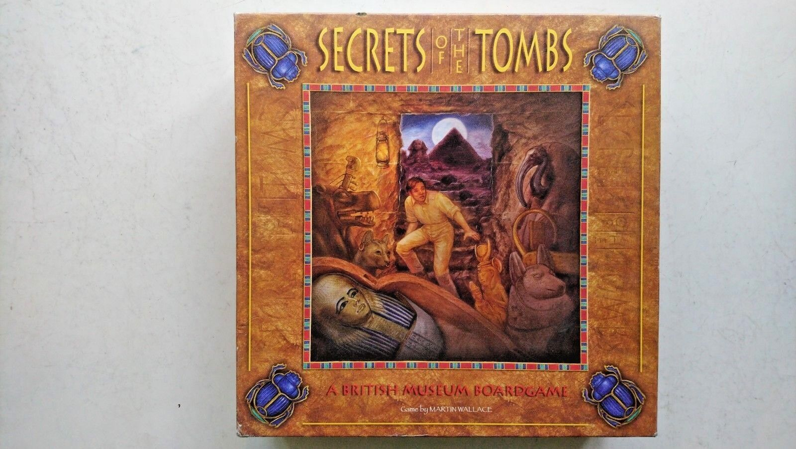 Secrets of the Tombs 2005 by Martin Wallace  (NEW  and Unplayed)