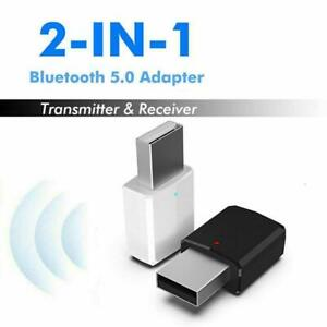 USB-Wireless-Bluetooth-5-0-Receiver-Audio-Transmitter-Dongle-Adapter-For-PC