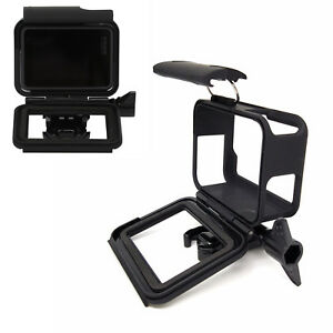 GoPro-Hero-7-6-5-Frame-Gehaeuse-Rahmen-Schutz-Huelle-Case-Schwarz