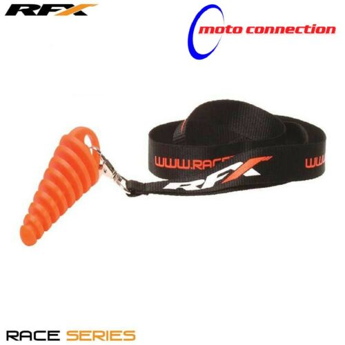 NEW RFX TWOSTROKE MOTOCROSS EXHAUST SILENCER WASH BUNG WITH LANYARD BETA RR 300