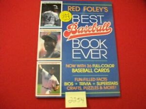 1994-MBKA-PRODUCTION-1st-EDITION-RED-FOLEY-039-S-BEST-BASEBALL-BOOK-EVER-TRIVIA