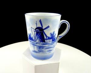 GERMAN-PORCELAIN-BLUE-AND-WHITE-WINDMILL-3-1-2-034-HANDLED-CUP