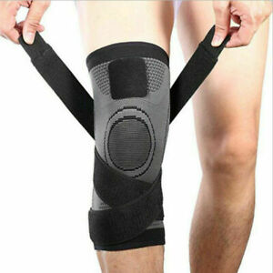 1-Pc-Weaving-Knee-Brace-Breathable-Support-Running-Jogging-Sports-Joint-Pain