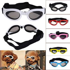 Pet-Dog-Doggy-Sunglasses-Toys-Eye-Wear-Goggle-Sun-Glasses-Adjustable-Strap-PaR8Y