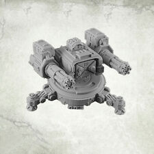 Legion Turret Sturmkanone Sentry Gun Twin Minigun Kromlech Resin KRM092
