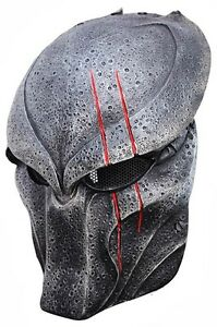 Predator-Paintball-Wolf-BIO-Airsoft-Maske-Cosplay-Schutzmaske-Mask-Schutzhelm