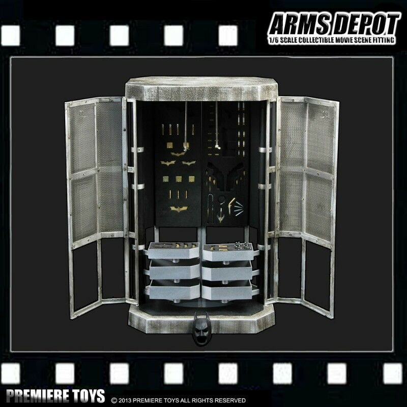 PREMIERE giocattoli BATuomo Arms Depot movie movie movie scene fitting 1 6 964358