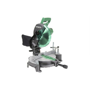 Hitachi 10 in. Compound Miter Saw C10FCG recon