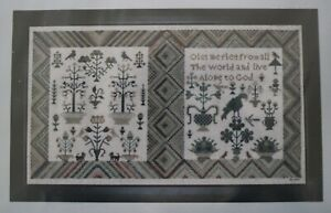 Let Me Flee Sampler from the Wyndham Collection Samplers and Such