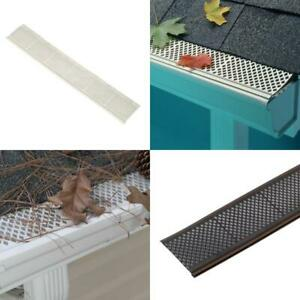 Snap In Filter Gutter Guard 3 Ft Roof Gutters Cover Leaf