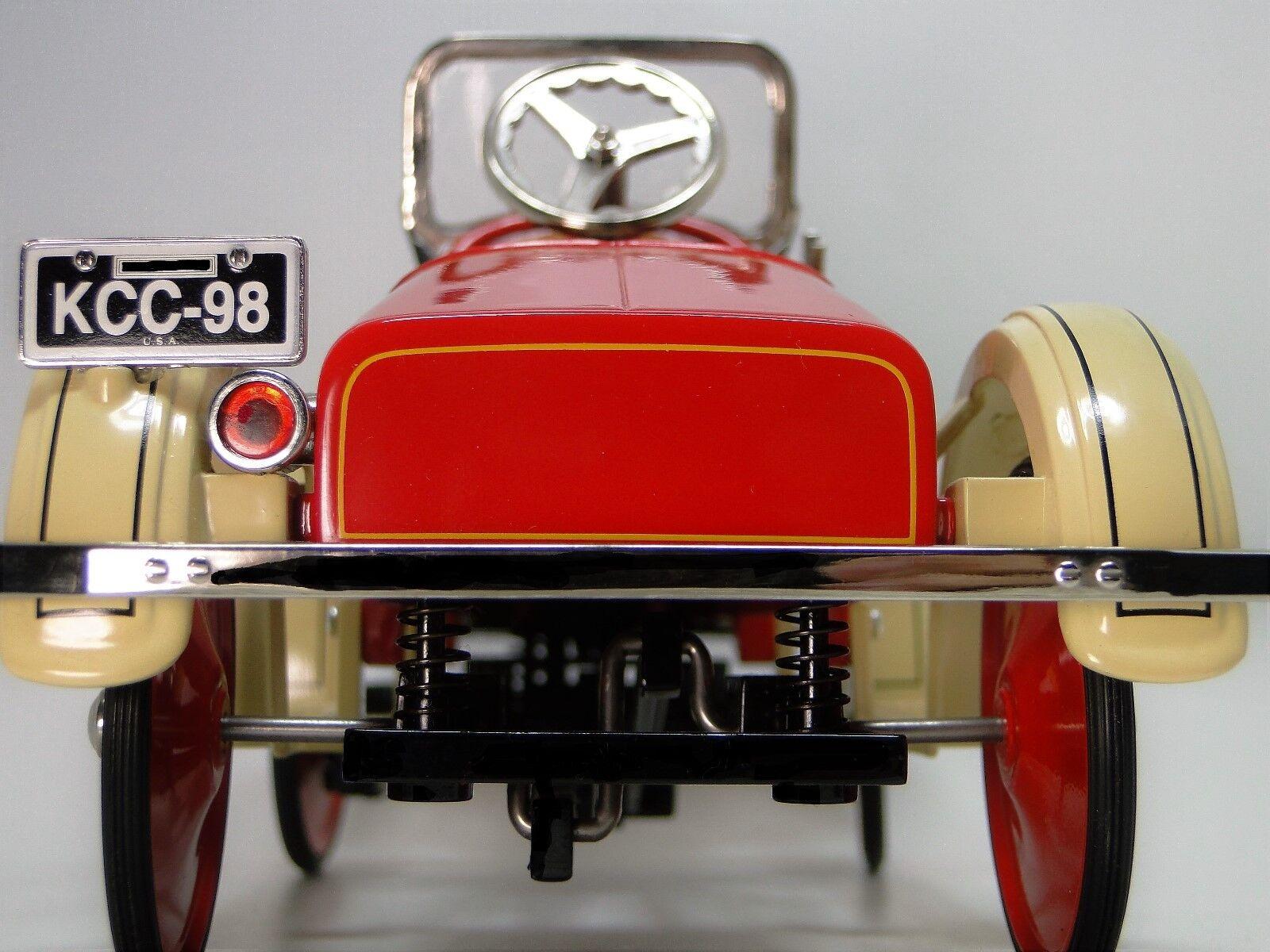 Pedal De Ford roja coche 1920 colector de Metal Vintage Rara T     leer la descripción completa