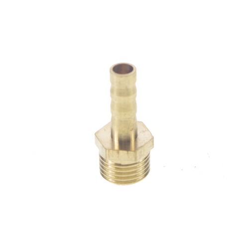 "5pcs 1//4/"" BSPP Male-6mm barbed Hose Brass Adapter Coupler Connector Fitting"