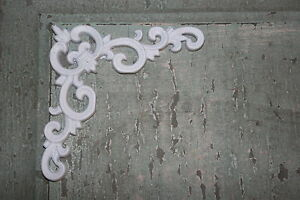 Image Is Loading 4 DIY Corner Pieces Shabby Chic Appliques Onlays