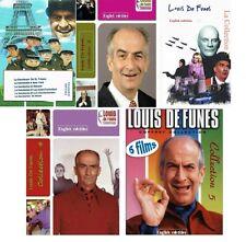 Louis de Funès. ALL 5 Collections. Comedy, French. English Subtitles. De Funes
