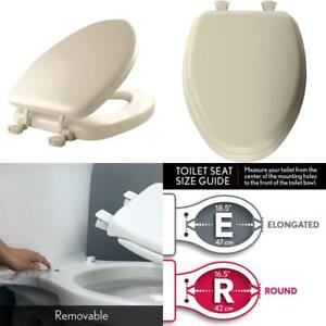 Mayfair Toilet Seat Installation.Details About Mayfair Soft Toilet Seat Easily Remove Elongated Padded With Wood Core Bone