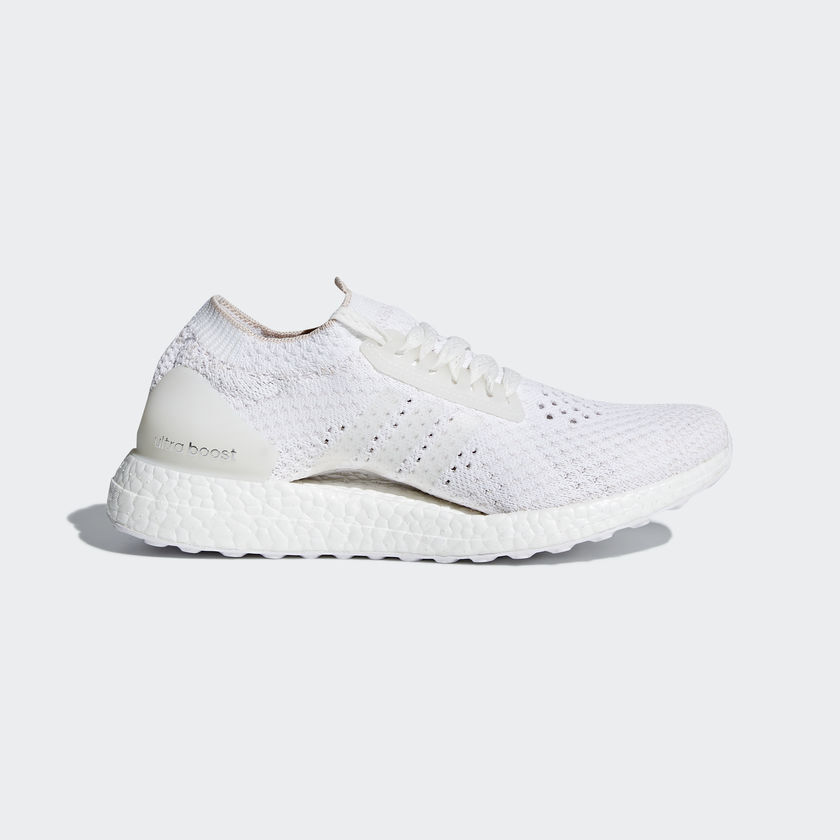 New Adidas ULTRABOOST X CLIMA Women's Running Shoes CG3946 Cloud White / Pearl