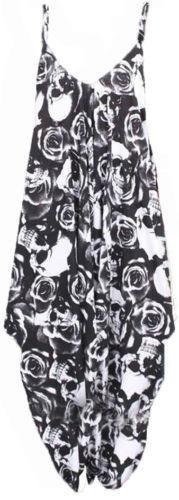 Débardeur cami jumpsuit lagenlook ange baggy harem playsuit robe lot plus taille