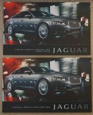 2010 JAGUAR XJ XJ6 3.0 Diesel 5.0 V8 58 Page Brochure & 10 Pg April Price List