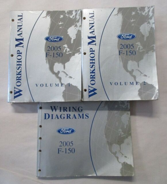 DIAGRAM 2002 Ford F 15wiring Diagrams Service Shop Set ...