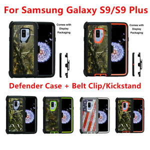 low cost e03eb c5fbd Details about For Samsung Galaxy S9/S9+Plus Camo Case w/(Clip Fit Otterbox  Defender)