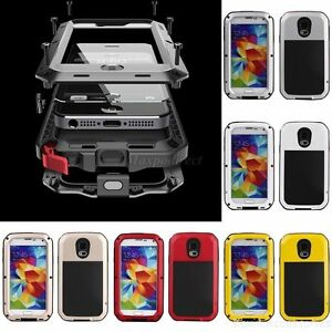 Waterproof-Aluminum-Shockproof-Gorilla-Metal-Hard-Cover-Case-For-iPhone-Samsung