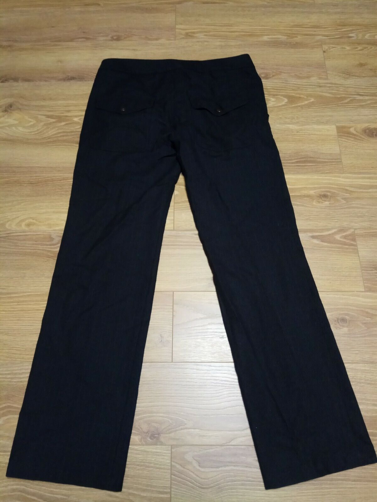 Hugo Boss James Black/grey Wool Dress Pants Micro… - image 6