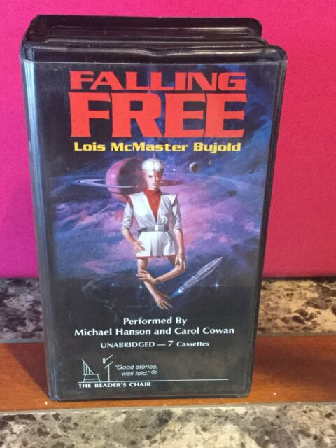 Falling Free By Lois McMaster Bujold Audio Book Unabridged 7 Cassettes Big Box