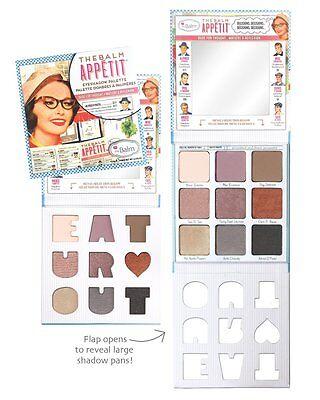 The Balm BALM APPETIT Eyeshadow Palette NEW (9 eyeshadows) FREE SHIPPING