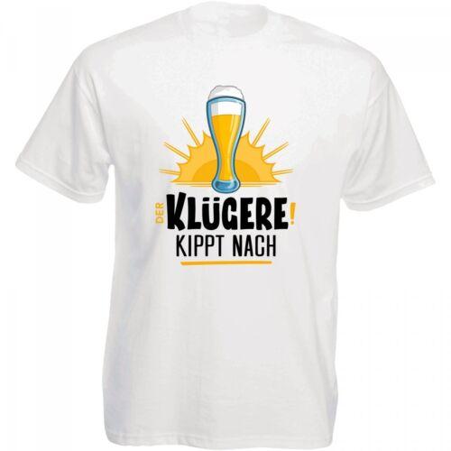 """/""""La distribuée plus intelligemment incline après/"""" 100/% coton NEUF Funshirt T-Shirt"""