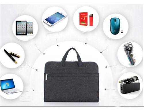 """Laptop Carry Shoulder Sleeve Case Cover Bag 11.6 12.5 13/""""13.3 14/""""15.4 15.6/"""""""