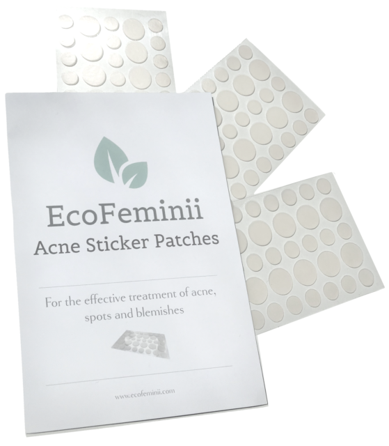 Acne Patch: Overnight Targeted Repair- 36 Absorbent Gel Dots for Spots & Pimples