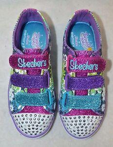 Sizes 11-3 Skechers Girls/' Light-Up Sneakers