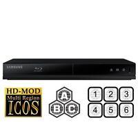Samsung Bd-j4500r Blu-ray Dvd Cd Player Multi-region / Region-free Upgraded