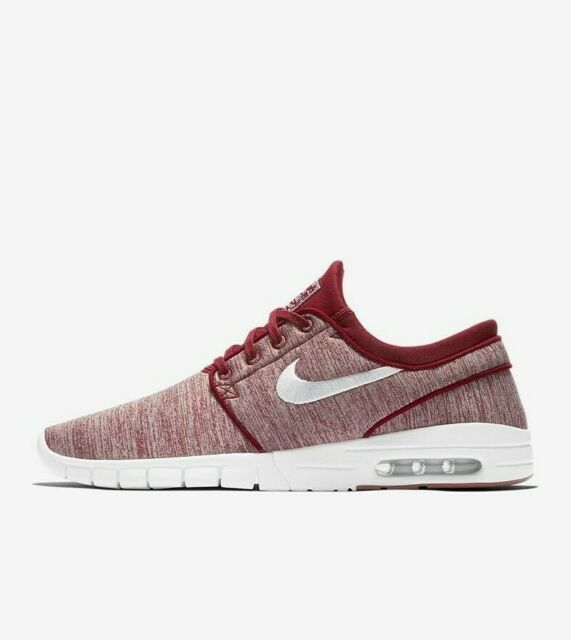f0c81b2c1d Nike SB Stefan Janoski Max 631303-603 Red Grey White Men's Skateboarding  Shoes