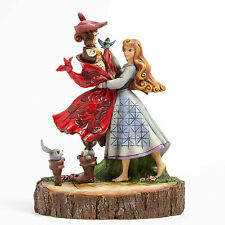 Enesco Jim Shore Disney Traditions Aurora Carved by Heart Figurine 4039076 NIB