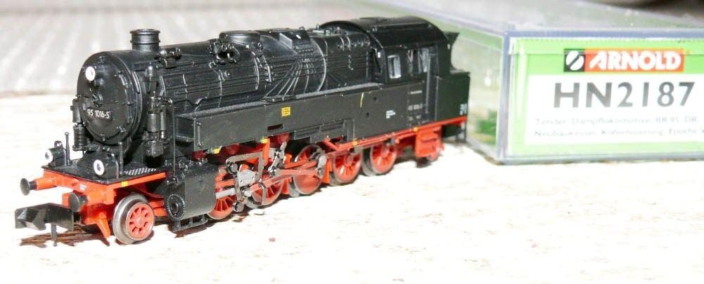 SH Arnold hn2187 Tenderlok BR 95 1016-5 DR Ep V nuove costruzioni Caldaia combustione