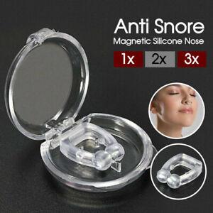 1-3-Anti-Snore-Magnetic-Silicone-Nose-Clip-Stop-Snoring-Apnea-Aid-Device-Stopper